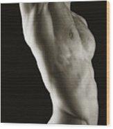 Javier Torso 2 Wood Print