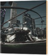 Jay Pritzker Pavilion - Chicago Wood Print