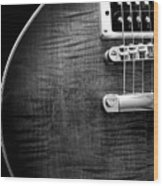 Jay Turser Guitar Bw 1 Wood Print