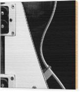 Jay Turser Guitar Bw 2 Wood Print