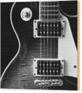 Jay Turser Guitar Bw 4 Wood Print