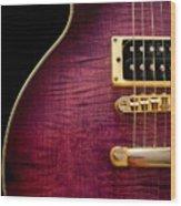 Jay Turser Guitar 3 Wood Print