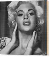 Jayne Mansfield, Ca. 1950s Wood Print by Everett