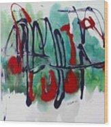 Jazz 2nd Series Painting 5 Wood Print