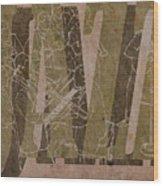 Jazz 34 Duke Ellington - Brown Wood Print