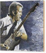 Jazz Eric Clapton 1 Wood Print