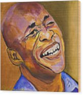Jazz Man Wood Print