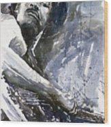 Jazz Marcus Miller 01 Wood Print