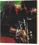 Jazz Miles Davis 1 Wood Print