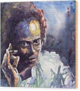 Jazz Miles Davis 11 Wood Print