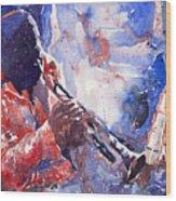 Jazz Miles Davis 15 Wood Print