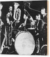 Jazz Musicians, C1925 Wood Print