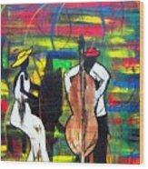 Jazz Performers Wood Print