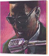 Jazz. Ray Charles.1. Wood Print