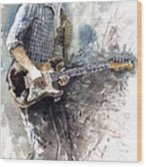 Jazz Rock John Mayer 05  Wood Print