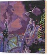 Jazz.miles Davis.4. Wood Print
