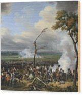 Jean Horace Vernet   The Battle Of Hanau Wood Print