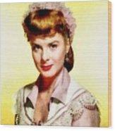 Jean Peters, Vintage Actress Wood Print