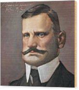 Jean Sibelius Wood Print