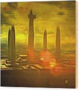Jedi Temple - Pa Wood Print