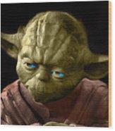 Jedi Yoda Wood Print
