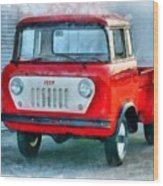 Jeep 1959 Fc150 Forward Control Pickup Wood Print