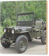 Jeep At Hydes Creek Wood Print