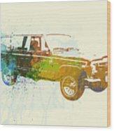Jeep Wagoneer Wood Print