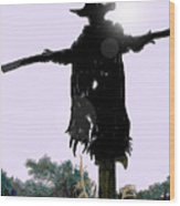 Jeepers Creepers Wood Print