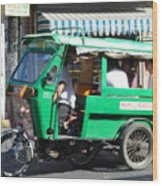 Jeepney 03 Wood Print