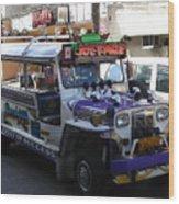 Jeepney 06 Wood Print