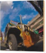 Jeepney 62932501 Wood Print