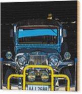 Jeepney, Manila Wood Print