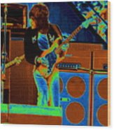 Live In Oakland 1976 Wood Print
