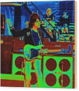 Live In Concert 1976 Wood Print