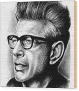 Jeff Goldblum Wood Print