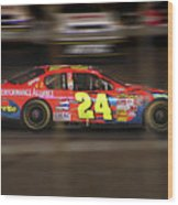 Jeff Gordons Cup Car  Wood Print