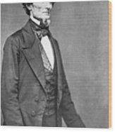 Jefferson Davis Wood Print by American Photographer