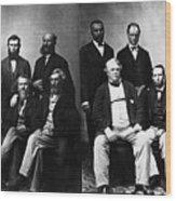 Jefferson Davis Trial Wood Print