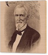 Jefferson Davis Vintage Advertisement Wood Print