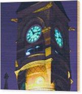 Jefferson Market Clock Tower Wood Print