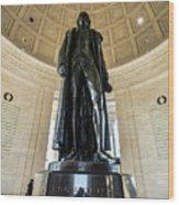 Jefferson Memorial Lll Wood Print
