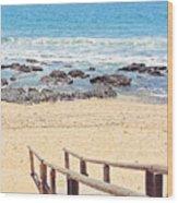 Jeffreys Bay Wood Print
