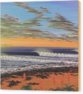 Jeffreys Bay  South Africa Wood Print