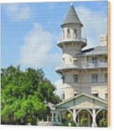 Jekyl Island Living Wood Print