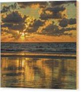 Jekyll Island Sunrise Wood Print