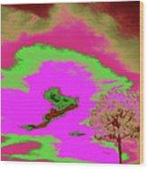 Jelks Pine 10 Wood Print