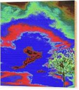 Jelks Pine 11 Wood Print