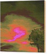 Jelks Pine 4 Wood Print