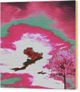 Jelks Pine 9 Wood Print